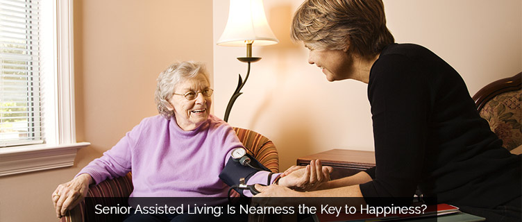 Senior Assisted Living in Clinton Township: Is Nearness the Key to Happiness?