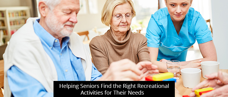 Helping Seniors Find the Right Recreational Activities for Their Needs in in Clinton Township