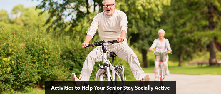 Activities to Help Your Senior Stay Socially Active